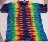 Tie Dye Pattern - fan fold - looks too easy to look this good!