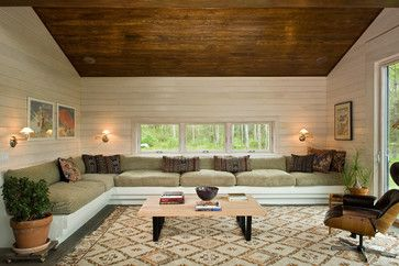 Built In Sofa Design Ideas, Pictures, Remodel, and Decor