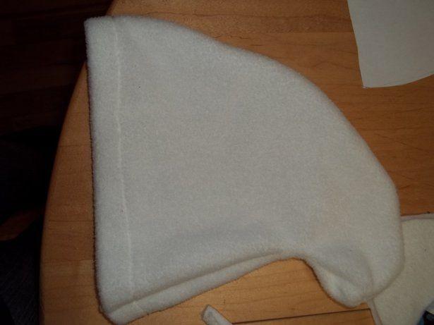 fleece smurf hat pattern