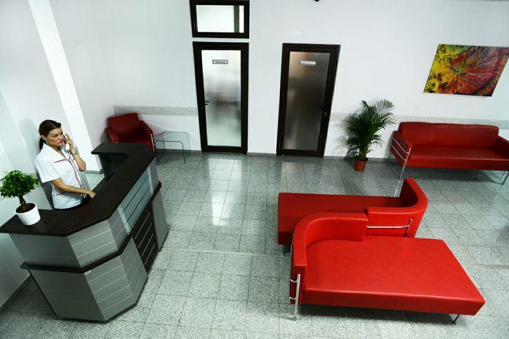 Klinica Doamna Ghica - sala de asteptare etaj 1