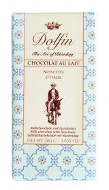 Dolfin 30g Voyage. Ciocolata cu lapte, alune Italia