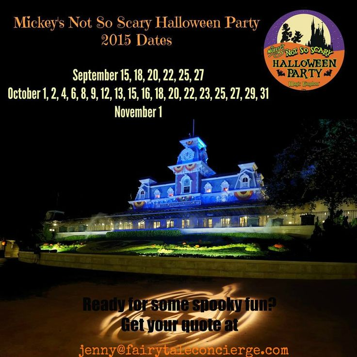 not so scary halloween party dates for