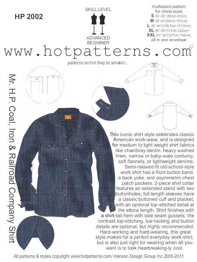 HotPatterns.com - HP 2002 Mr. H.P Coal, Iron