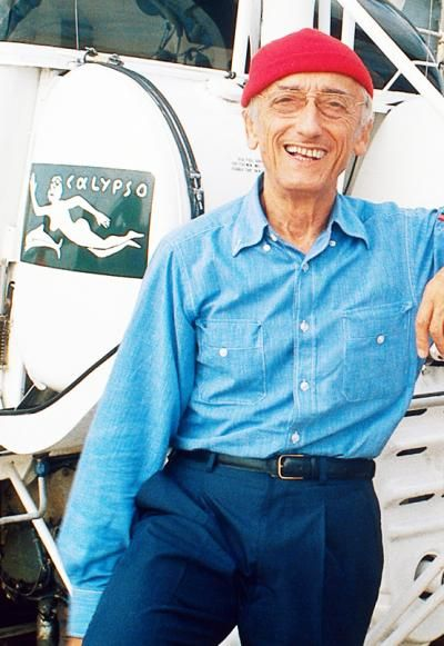 ✿ Jacques-Yves Cousteau ✿  I wish I could have been with him on several of his journeys