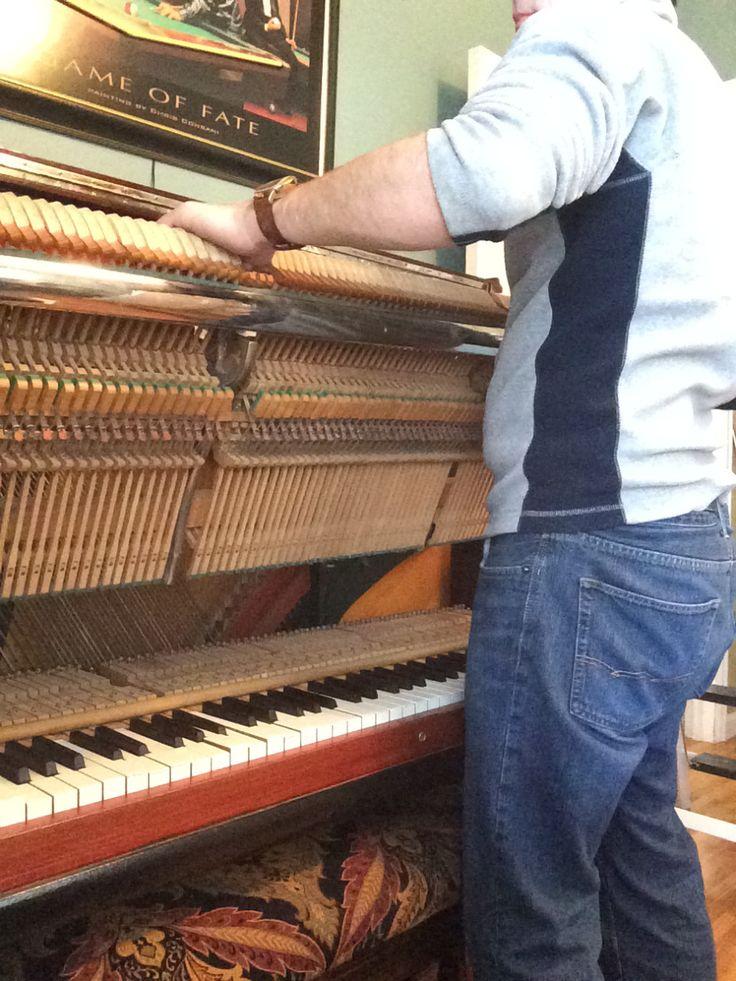 Piano disassembly