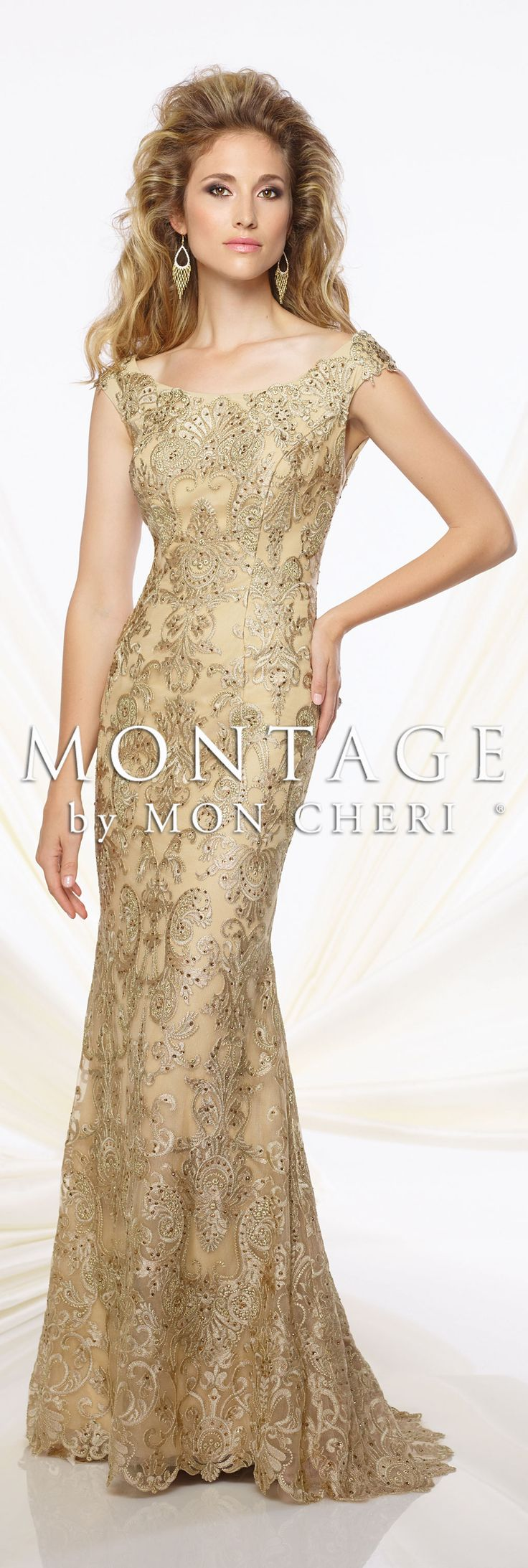 Montage by Mon Cheri Spring 2016 - Style No. 116948 #eveninggowns