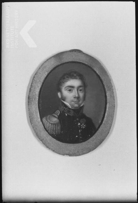 Portrait of Carel Frederik Gey van Pittius (1790-1866)