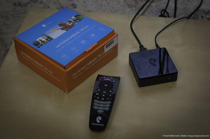 Коробочка с телевидением