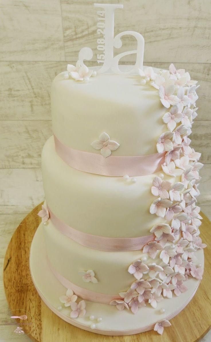 by biskuitwerkstatt dreist�ckige Hochzeitstorte in wei� und rosa und warum Frauen doch immer das letzte Wort haben http://biskuitwerkstatt.blogspot.com