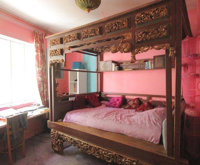 photo deco chambre un style moderne et asiatique http. Black Bedroom Furniture Sets. Home Design Ideas