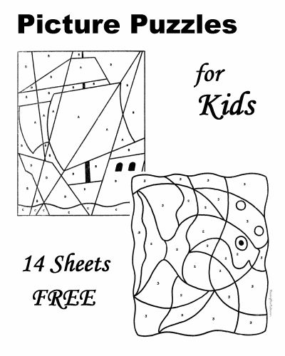 free printable picture puzzles for kids are fun easy and difficult puzzles