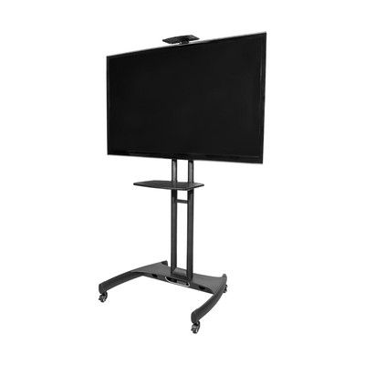 Kanto MTM65 Plus Mobile TV Mount with Adjustable Shelf for 37-inch to 65-inch TVs