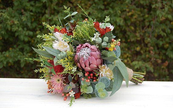 Matilda  Wedding Bouquet  Artificial Bouquet  by bloomroomdesigns, $240.00