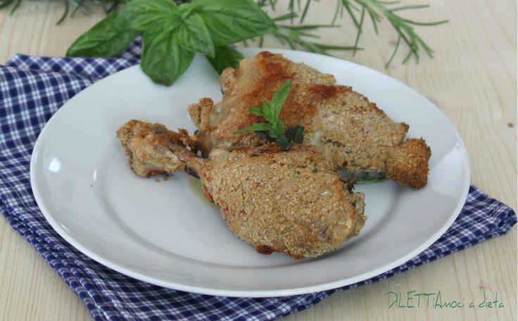 Pollo impanato con crusca d' avena - ricetta Dukan | DILETTiAmoci a dieta