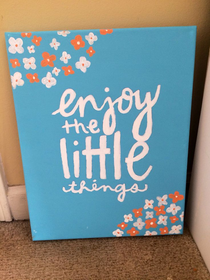 Cute College Dorm Canvas Canvas Painting Quotes Cute