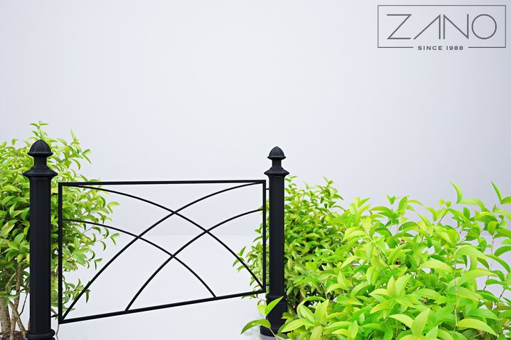 Presented fence can define areas in the streetscape and provide an attractive design elements from vehicles.