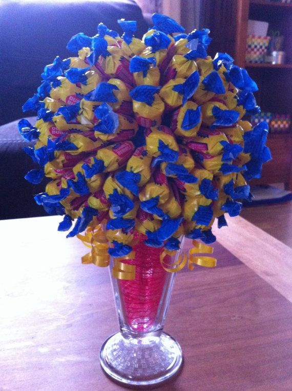 65 best Chocolate Flower Bouquets images on Pinterest | Candy bar ...