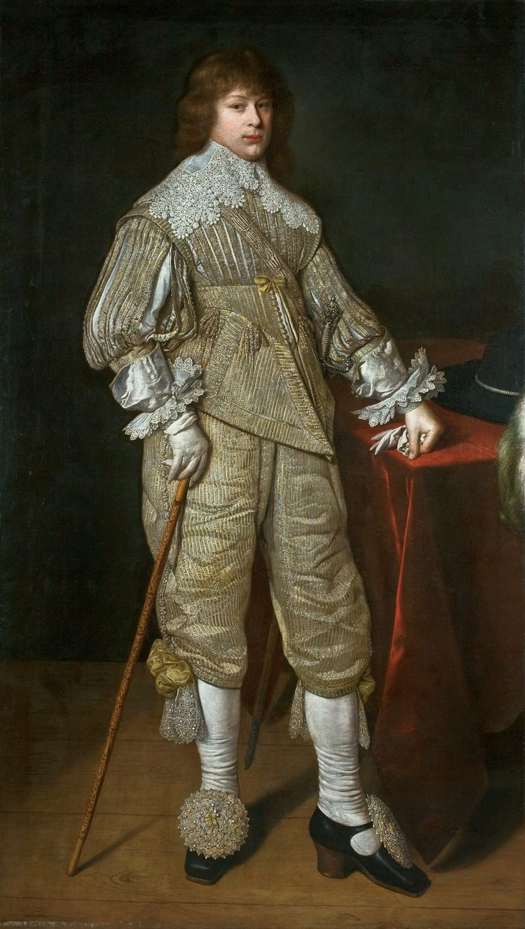 Portrait of Prince Janusz Radziwiłł (1612–1655) by David Bailly, 1632 (PD-art/old), Muzeum Narodowe we Wrocławiu (MNWr)