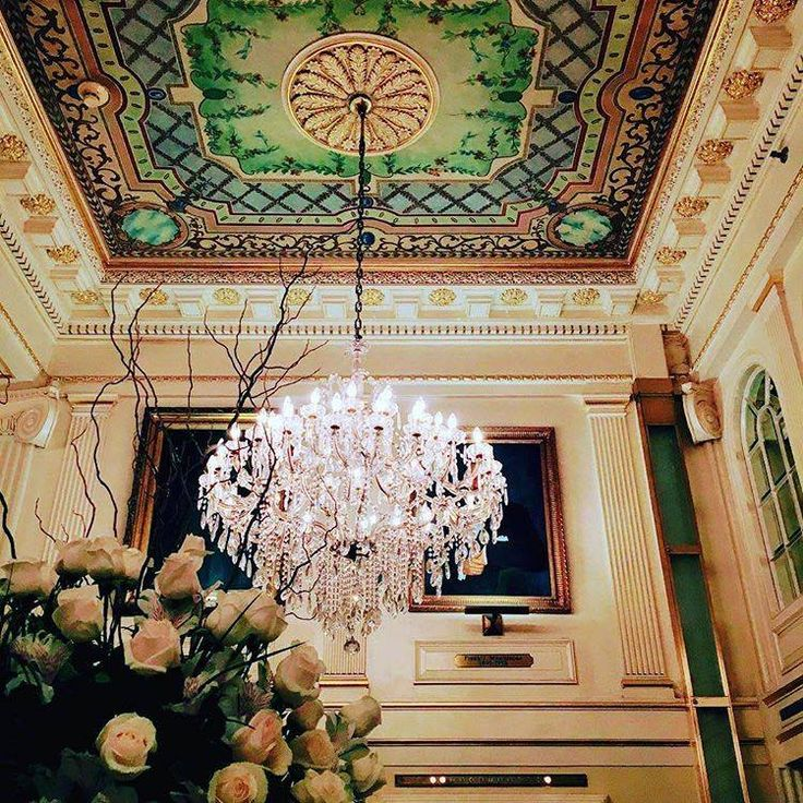 The most intricate of details tell the story of our historic hotel. (Photo by @kristinrobranceramics via Instagram)