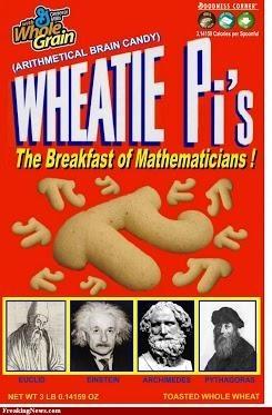 Wheatie Pi's!