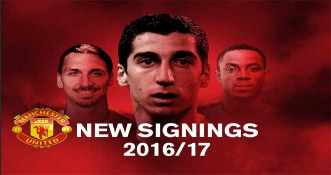 Manchester United New Players for Premier League | MAXBET