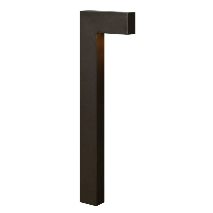 Hinkley Lighting Modern Path Light with Etched in Bronze Finish 1518BZ