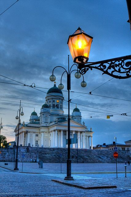 Helsinki Cathedral Summer Night by lassi.kurkijarvi - Finland