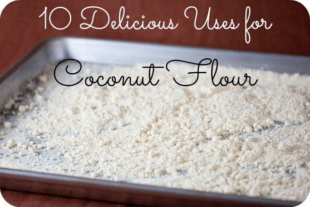 What is Coconut Flour? If you are living gluten-free, you've probably come across coconut flour when looking over some recipes. It is known for its naturally sweet and delicious flavor, and it is made simply by grinding up dried coconut meat. Because it holds in both water and fat, it keeps the items you →