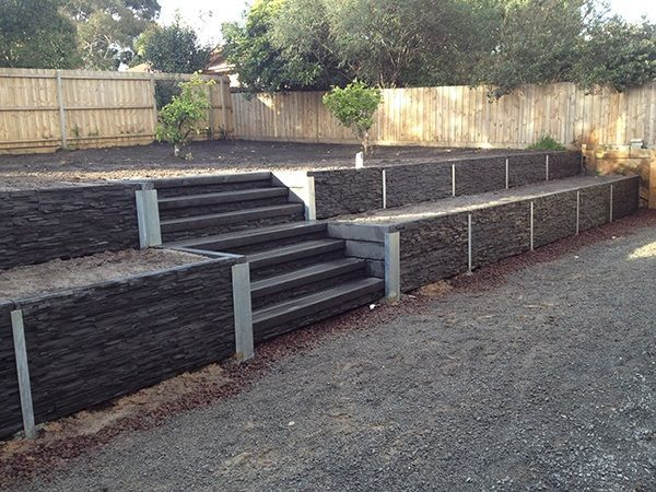 24 best retaining wall images on pinterest backyard for Retaining walls adelaide