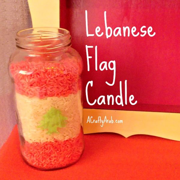 A Crafty Arab: Lebanese Flag Candle {Tutorial}. Lebanon is the most religiously diverse country in the Middle East. As of 2014: Muslim 54%, Christian 40.5%, Druze 5.6%, very small numbers of Jews, Baha'is, Buddhists, Hindus and Mormons.  I was excited to learn about about this Mediterranean oasis when I found out this upcoming weekend there will be a performance from Im …
