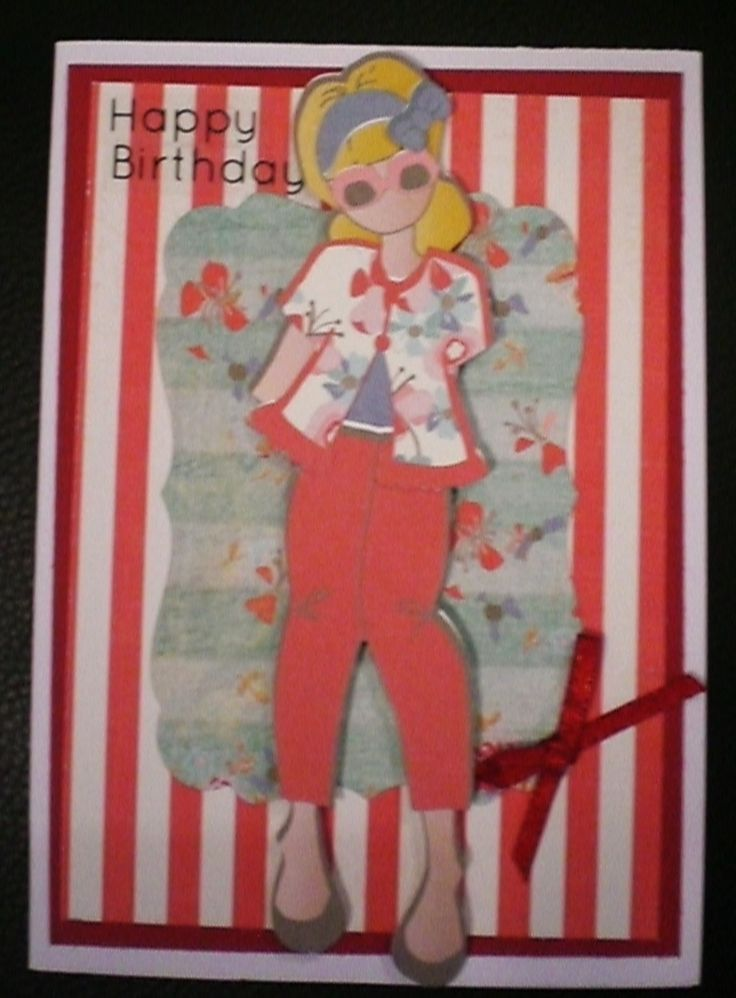 Prima Paper Doll collection fbk-kayskards