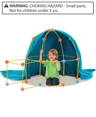 Discovery Kids 69-Piece Flexible Construction Fort Set | macys.com