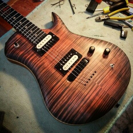 Leaf - Custom Guitar