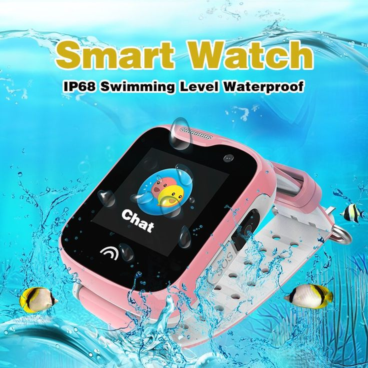 Best GPS Tracker Watch For Children Kids Camera Phone Call