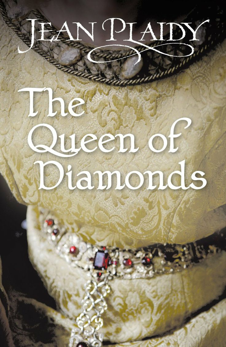 Jean Plaidy - The Queen of Diamonds. Considering that the book has to do with the Diamond Necklace affair, we should see anothe type of dress in it's cover.
