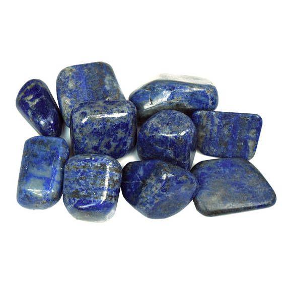 Lapis Lazuli Tumble Stone  Blue Lapis Tumblestone Medium