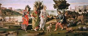 - S.Botticelli, Urteil des Paris