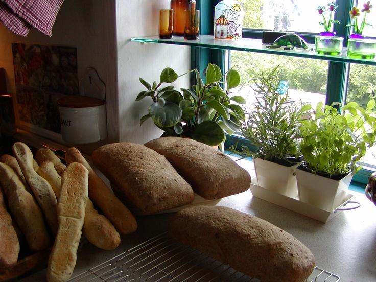 Mer' brød til sommerfest...