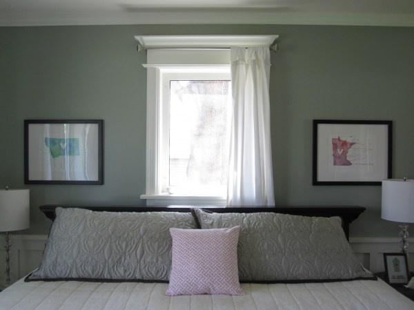 Curtains Ideas curtain placement : moulding around window - perfect for curtain rod placement ...