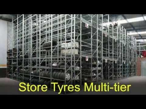 Metalsistem Car Parts Storage