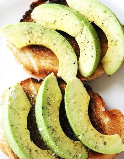 Avocado on toast. My favorite food.