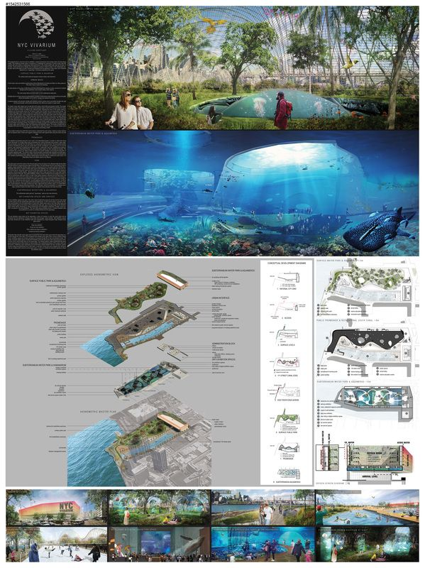 """ NYC VIVARIUM – A LIVING SANCTUARY "" - NYC Aquarium competition finalist"