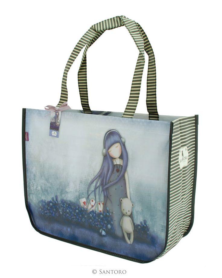 Gorjuss Large Shopping Bag - Dear Alice