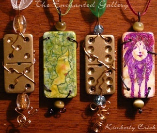 make art/necklaces with dominoes craft-ideas