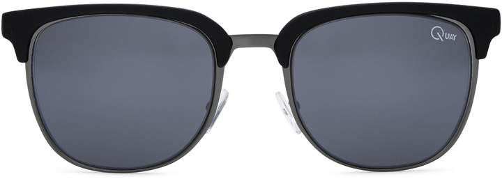 Quay Flint Clubmaster Sunglasses