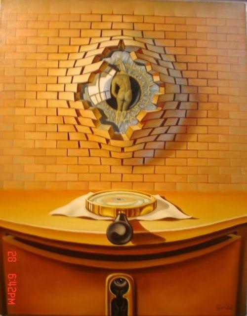 Surrealism and Visionary art: Lohmuller Gyuri