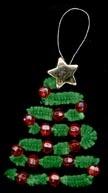 Kerstdecoratie ideeën voor jonge kinderen.
