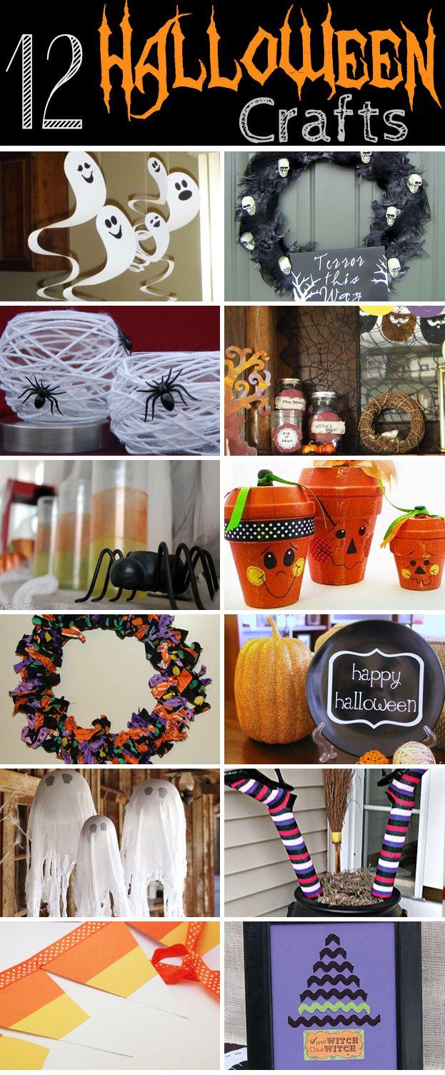 Halloween Craft and Recipe Roundup!