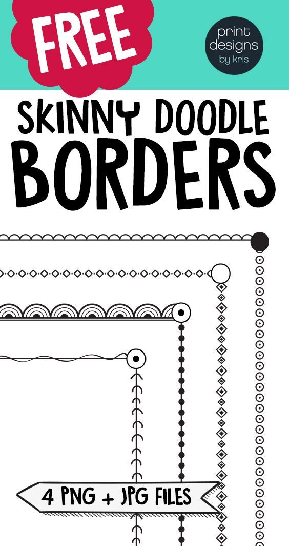 Skinny borders provide a fun and attractive visual element for your latest lesson plan or product while leaving a lot of space on your page for your content. This borders package will provide you with plenty of options for all your TPT products and more! Perfect for TPT sellers or for any teacher making a newsletter, flyer or worksheet!