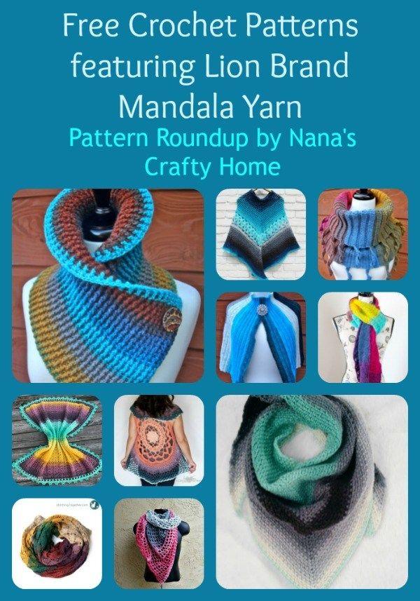 9a605c9a5f40 Crochet Pattern Roundup featuring Lion Brand Mandala Yarn